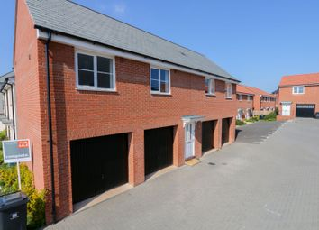 Thumbnail 2 bed flat to rent in Burrough Fields, Cranbrook, Exeter