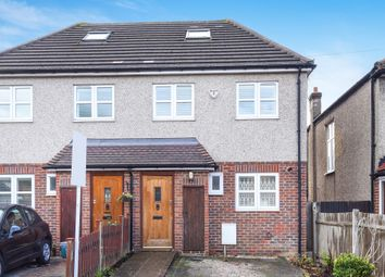 Thumbnail Semi-detached house for sale in Fern Avenue, Mitcham