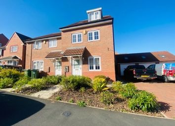 Thumbnail 3 bed property to rent in Glenfield, Leicester