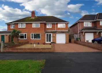 Thumbnail 4 bed semi-detached house for sale in Ambrose Road, Swindon, Wiltshire