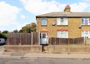 Thumbnail 3 bed end terrace house for sale in Knockhall Road, Greenhithe