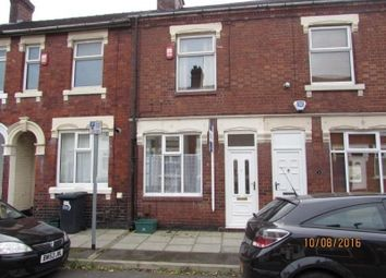Thumbnail 3 bed terraced house to rent in Carlton Road, Stoke-On-Trent