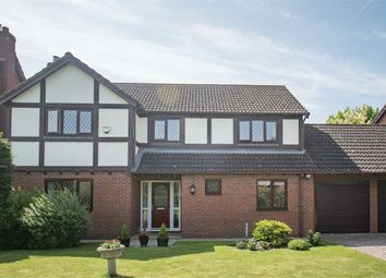 Thumbnail 4 bed detached house for sale in Fismes Way, Wem, Shrewsbury, Shropshire