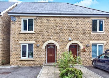 Thumbnail 3 bed semi-detached house for sale in Quinnell Close, Plumstead, London