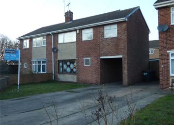 Thumbnail 4 bed semi-detached house for sale in Dart Grove, Auckley, Doncaster