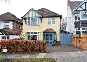 Thumbnail 3 bedroom detached house for sale in Petersfield Road, Birmingham, West Midlands.