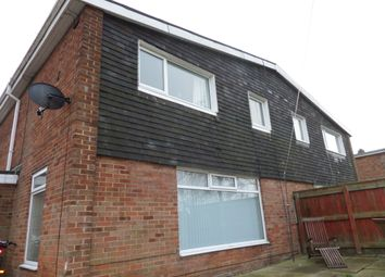 Thumbnail 3 bedroom semi-detached house for sale in Defoe Crescent, Newton Aycliffe