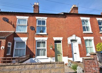 Thumbnail 3 bedroom terraced house for sale in Churchill Road, Norwich