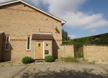 Thumbnail 1 bed terraced house to rent in Melton Close, Wymondham