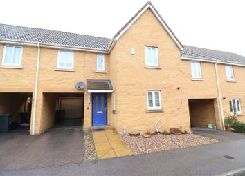 Thumbnail 3 bed terraced house for sale in Temple Gardens, Rushden
