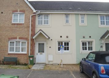 Thumbnail 2 bed terraced house to rent in St. Peters Avenue, Llanharan, Pontyclun