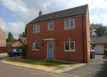 Thumbnail 3 bed detached house for sale in Syerston Way, Newark