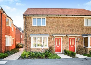 Thumbnail 2 bed semi-detached house for sale in Brambling Avenue, Finberry, Ashford, Kent