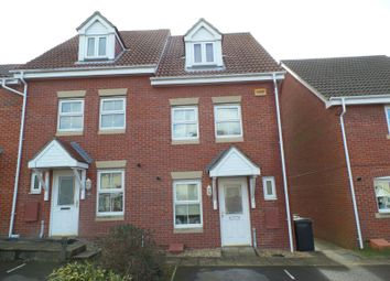 Thumbnail 3 bed town house to rent in Avro Court, Hamble, Southampton