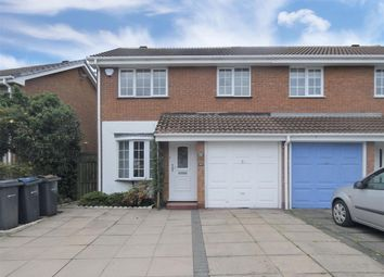Thumbnail 3 bed semi-detached house for sale in Bradshawe Close, Hall Green, Birmingham