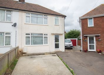 Thumbnail 3 bed semi-detached house for sale in Sheldon Close, Aylesham