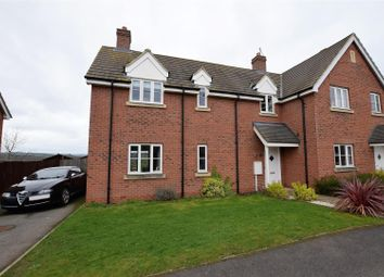 Thumbnail 3 bed semi-detached house for sale in Geoff Sewell Close, North Luffenham, Rutland
