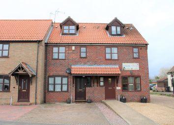Thumbnail 3 bed terraced house for sale in Marshland Street, Terrington St. Clement, King's Lynn