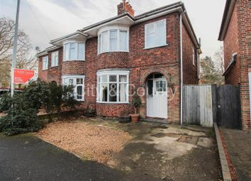 Thumbnail 3 bed semi-detached house for sale in Queens Gardens, Peterborough