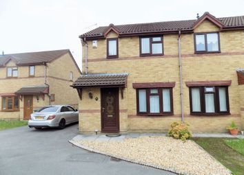 Thumbnail 2 bed semi-detached house to rent in Heol Erw Y Rhos, Caerphilly
