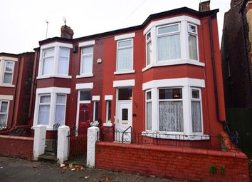 Thumbnail 4 bed semi-detached house for sale in Broughton Road, Wallasey, Merseyside
