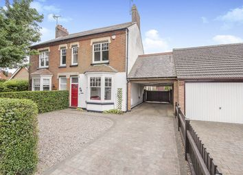 Thumbnail 3 bed semi-detached house for sale in Station Road, Dunton Bassett, Lutterworth