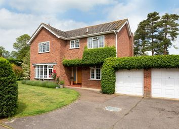 Thumbnail 4 bed detached house for sale in Hazel Drive, Horringer, Bury St Edmunds