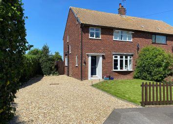 3 bed semi-detached house for sale in Meadow Lane, Weston, Newark NG23