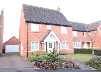 Thumbnail 4 bed detached house to rent in Whissendine Way, Syston, Leicester