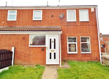 Thumbnail 3 bed end terrace house to rent in Coventry Drive, Worksop, Nottinghamshire