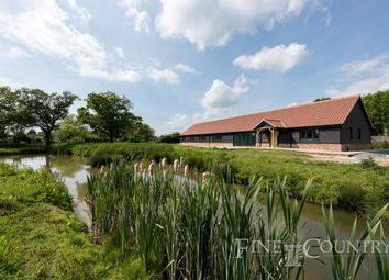Thumbnail 5 bedroom barn conversion for sale in Rectory Road, Tivetshall St. Mary, Norwich