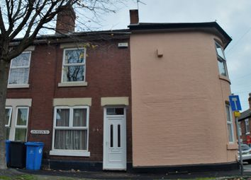 Thumbnail 2 bedroom terraced house to rent in Jackson Street, Stockbrook, Derby