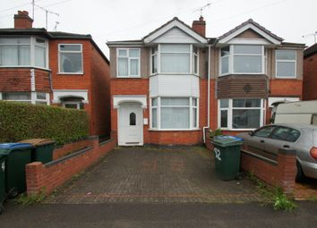 Thumbnail 3 bed semi-detached house for sale in Treherne Road, Coventry