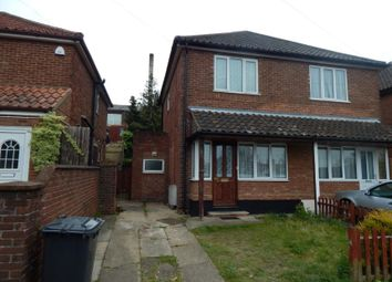 Thumbnail 2 bedroom semi-detached house for sale in 41 Crome Road, Norwich, Norfolk