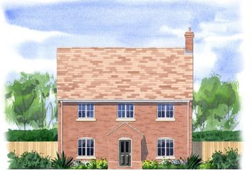 Thumbnail 4 bed detached house for sale in Sayers Crescent, Wisbech St. Mary, Wisbech