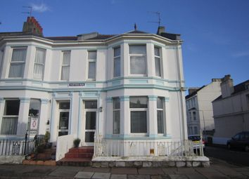 Thumbnail 1 bed flat to rent in 21 Radford Road, West Hoe, Plymouth