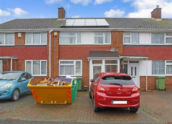 Thumbnail 3 bed terraced house for sale in Coombe Drive, Sittingbourne, Kent