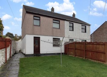 Thumbnail 2 bed semi-detached house for sale in East End, Redruth