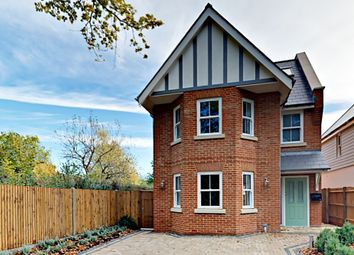 Thumbnail 4 bed detached house for sale in Linsford Lane, Mytchett, Camberley