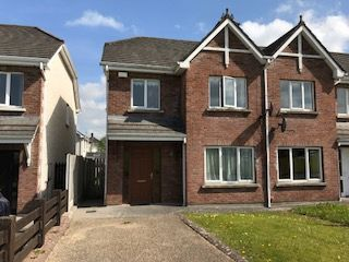 Thumbnail 3 bed semi-detached house for sale in 15 Chancery Park Drive, Tullamore, Offaly