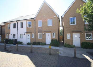 Thumbnail 2 bed end terrace house to rent in Saxton Close, Grays