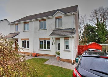 Thumbnail 4 bed semi-detached house for sale in Maes Dewi, Pentremeurig Road, Carmarthen