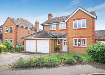 Thumbnail 4 bed detached house for sale in The Wrens, Thetford