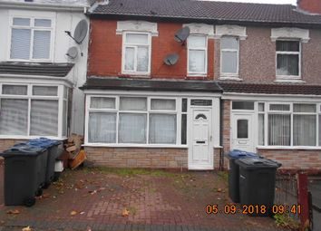 Thumbnail 3 bed terraced house for sale in Aubrey Road, Small Heath