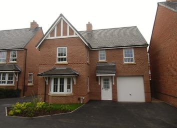 Thumbnail 4 bed detached house to rent in Halladale Drive, New Lubbesthorpe, Leicester