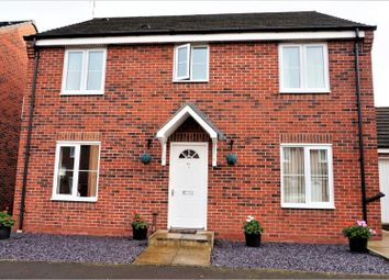 Thumbnail 4 bedroom detached house for sale in Jefferson Way, Coventry