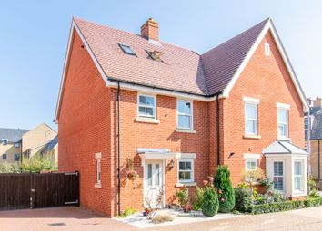 Thumbnail 3 bed semi-detached house for sale in Blackburn Way, Biggleswade