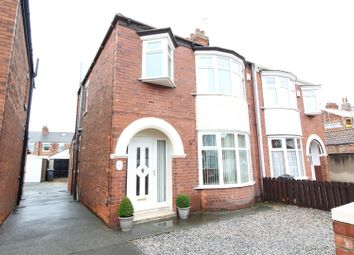 Thumbnail 3 bedroom semi-detached house for sale in Kingsley Avenue, Hull