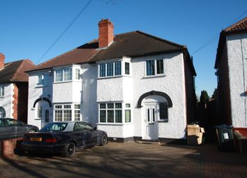 Thumbnail 3 bed semi-detached house to rent in Copthall Road, Birmingham