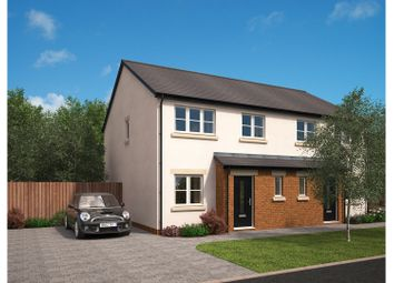 Thumbnail 3 bed semi-detached bungalow for sale in The Green, Carnforth